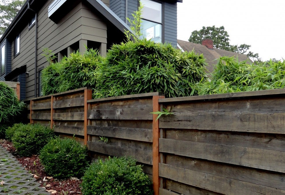 Good fences make good gardens