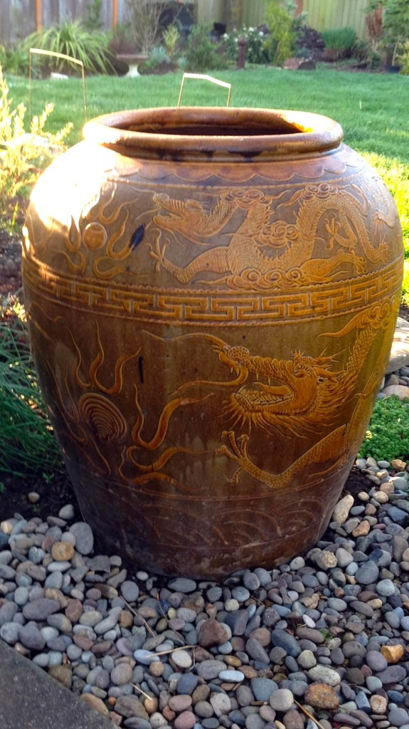 Dragon Urn - one heavy pot