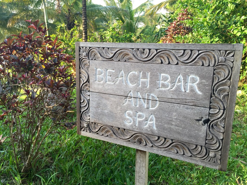 beach bar and spa