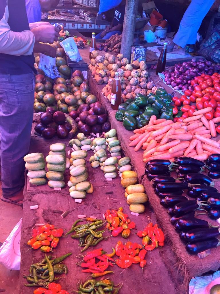 peppers cucumbers potatoes eggplant carrot