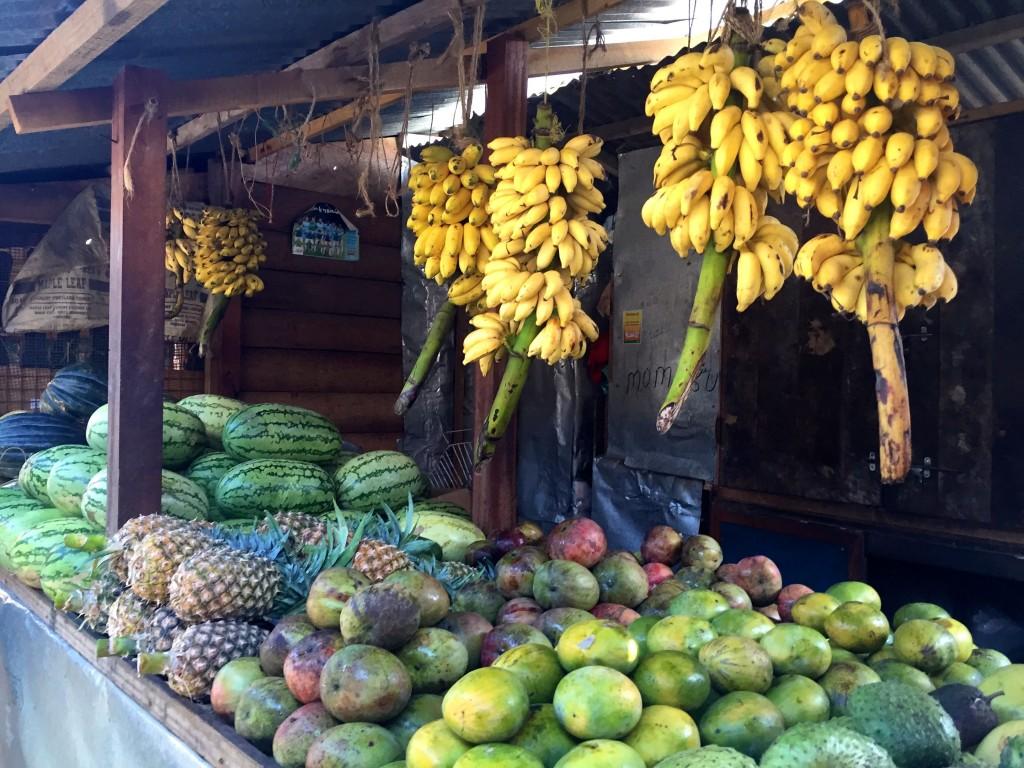 mango pineapple melon banana