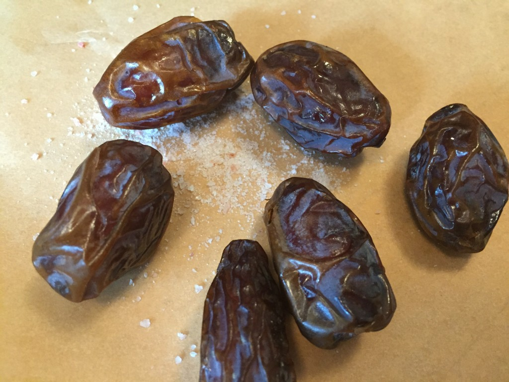 dates and salt