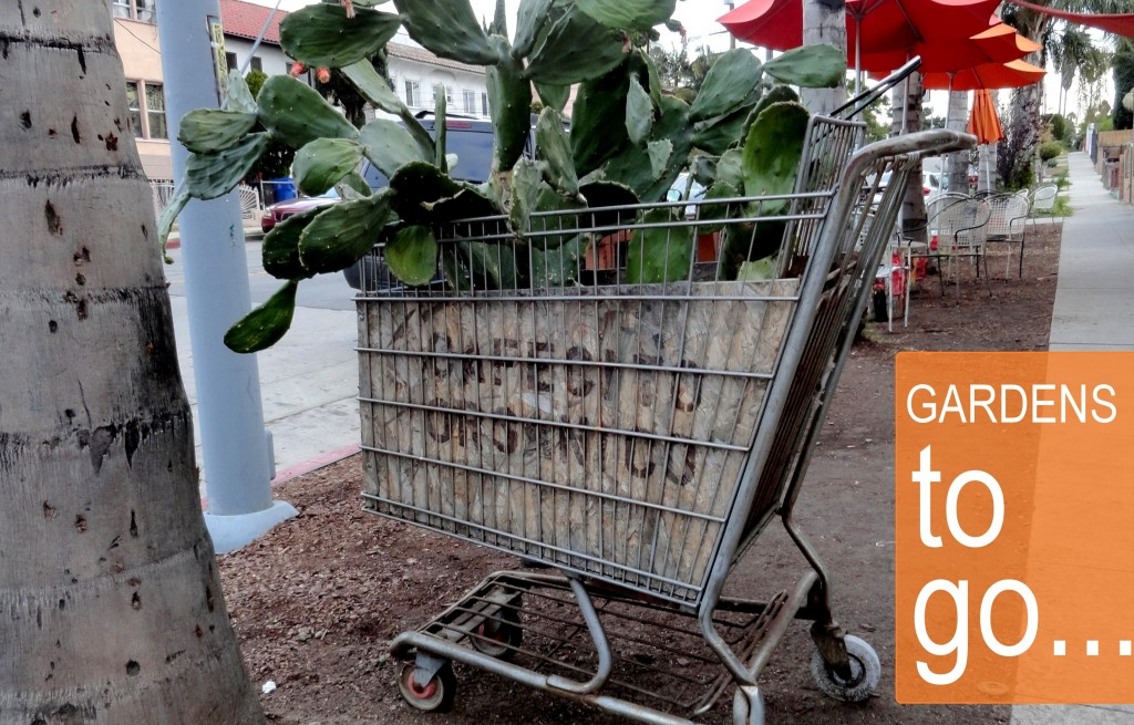 Shopping cart gardens