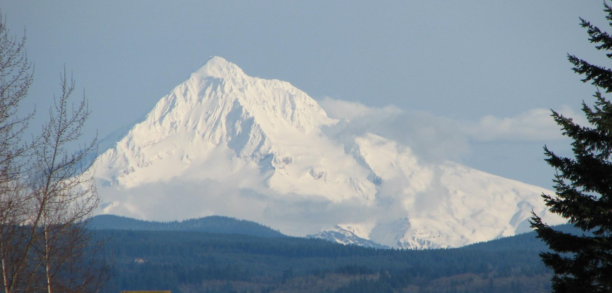 Mt. Hood. Photo by Theo.