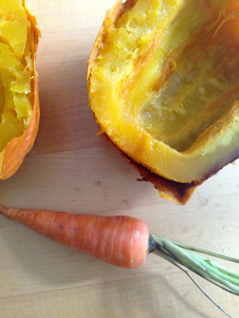 pumpkin and carrot