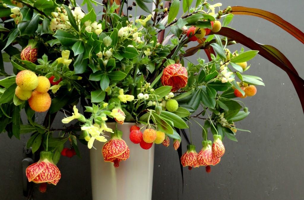 In a vase…