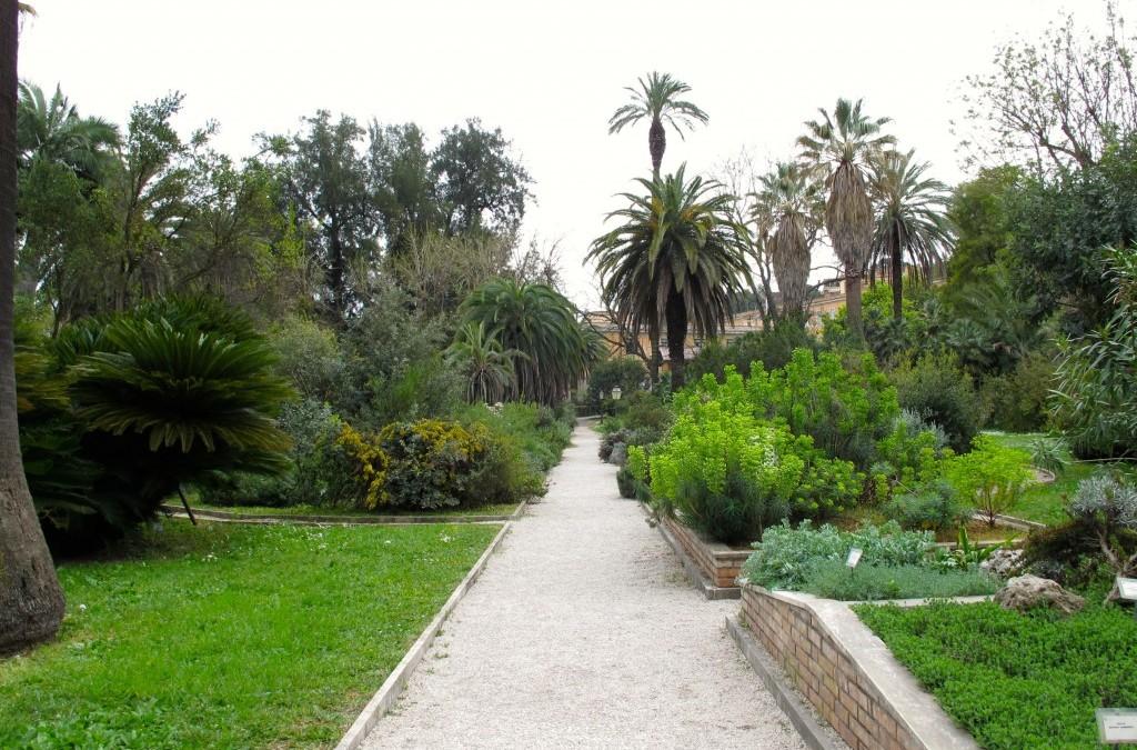Roman Holiday, Orto Botanico Style