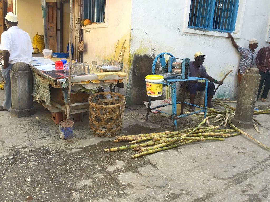 sugar cane drink press