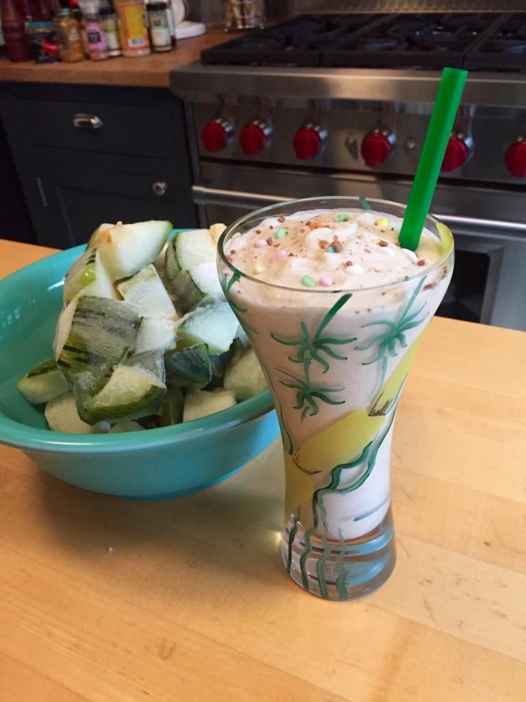 zucchini milkshake