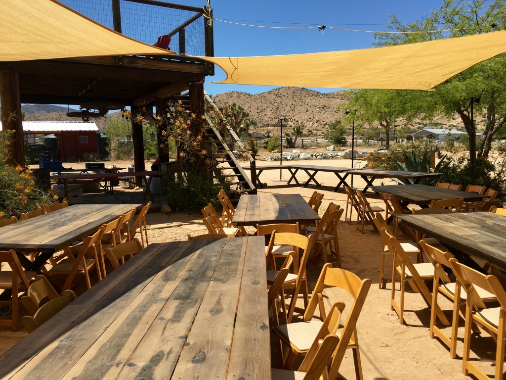 Rim Rock Ranch with outdoor seating.