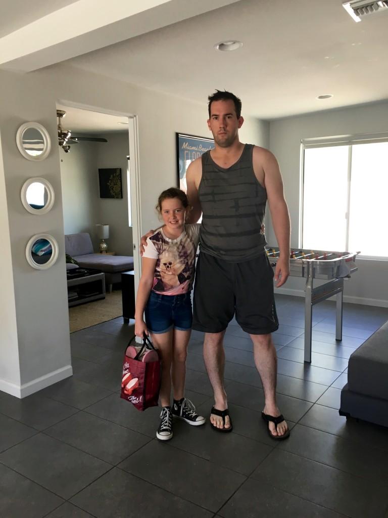 Elliot and cousin Jordan.