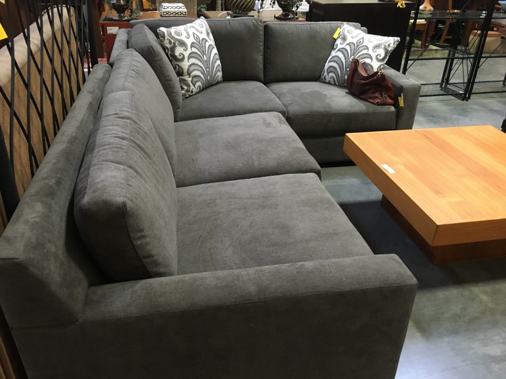 Sofa in Consignment Shop